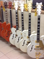 Range Gretsch guitars